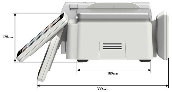 東芝テック 計量ラベルプリンター SL-6300 サイズ