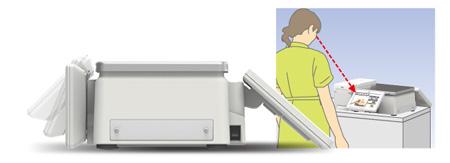 東芝テック ラベルプリンター SL-6300 画面角度